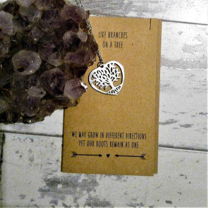20% off Keepsake necklace on card -  Like Branches On A Tree